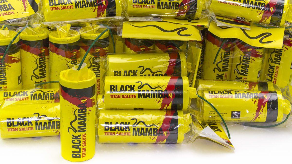 Esplosione titanica Black Mamba