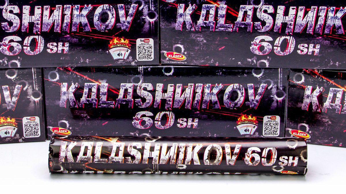 Petardi lampeggianti Kalashnikov 60