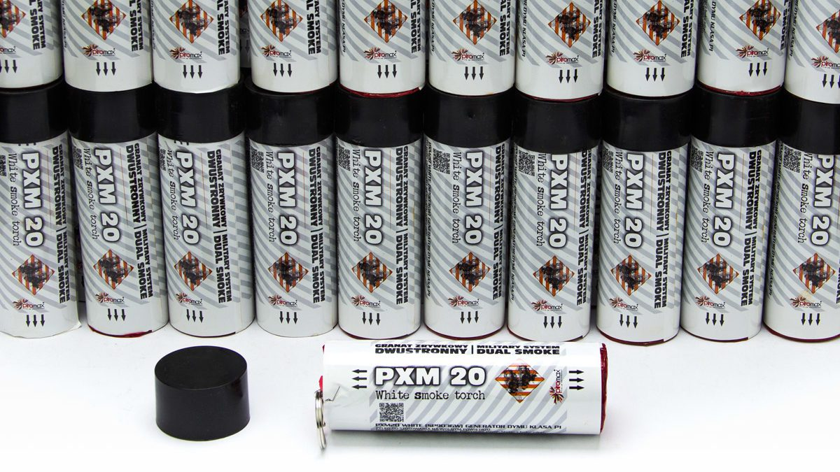 Bílá dýmovnice PXM20